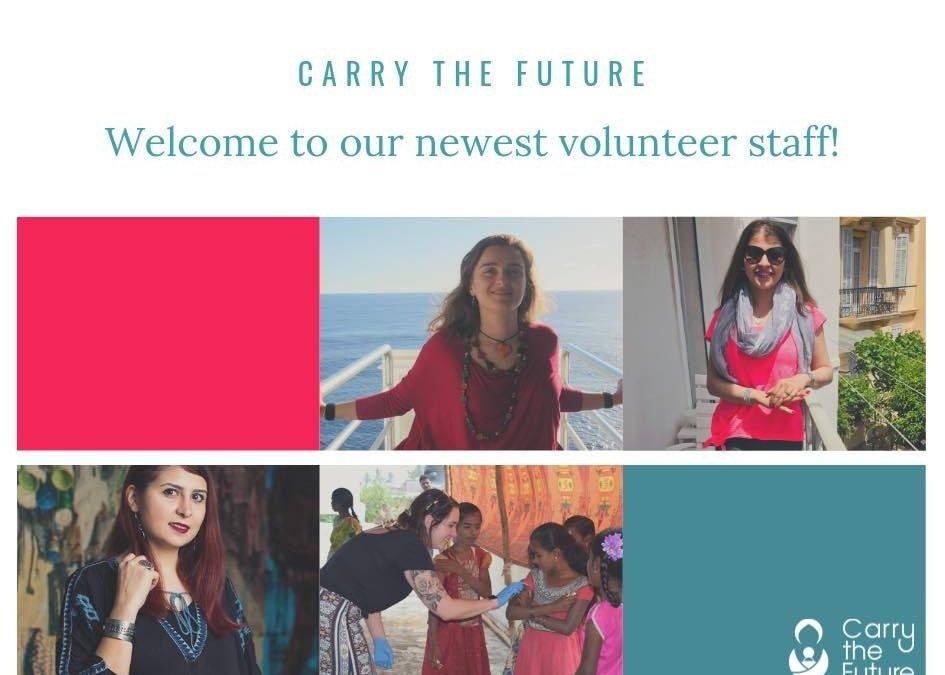 Meet Our Newest Volunteers!