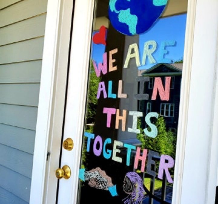 World Refugee Day:  Window Paint Challenge