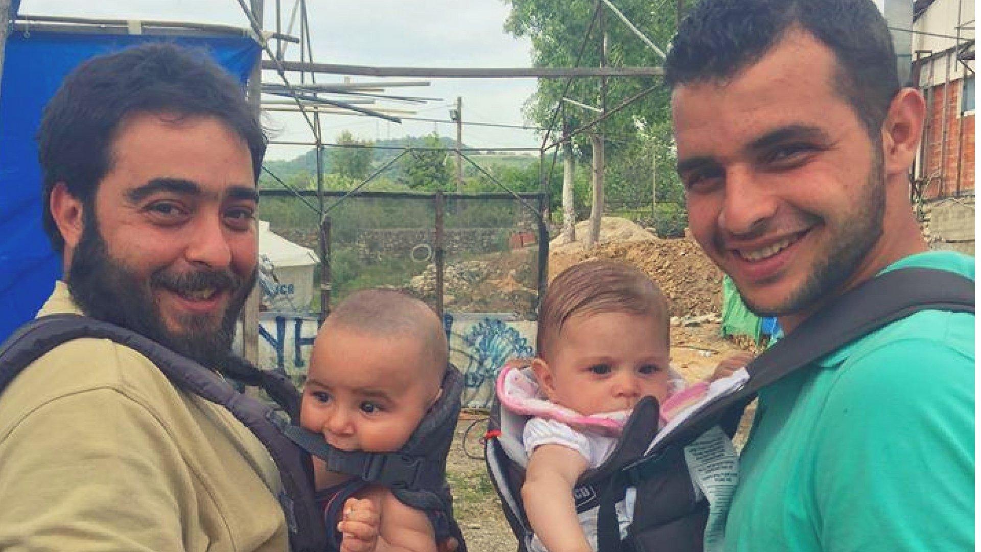 Celebrating Refugee Dads!